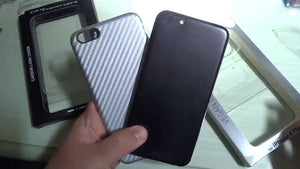 Puro Carbon e Vegan per Apple iPhone 6