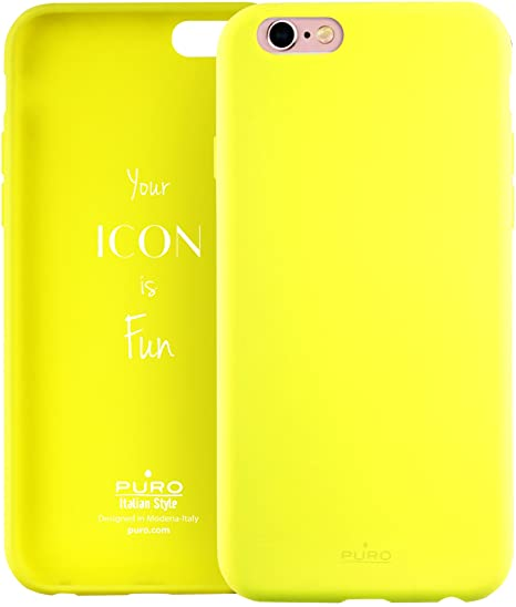 Puro Icon Liquid Silicon Cover iPhone 6