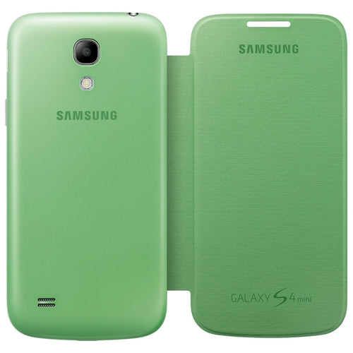 Custodia Samsung Flip Cover per Galaxy S4 Mini Verde
