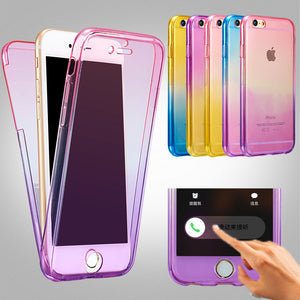 Silicone custodia for iphone 6 6s plus 5s
