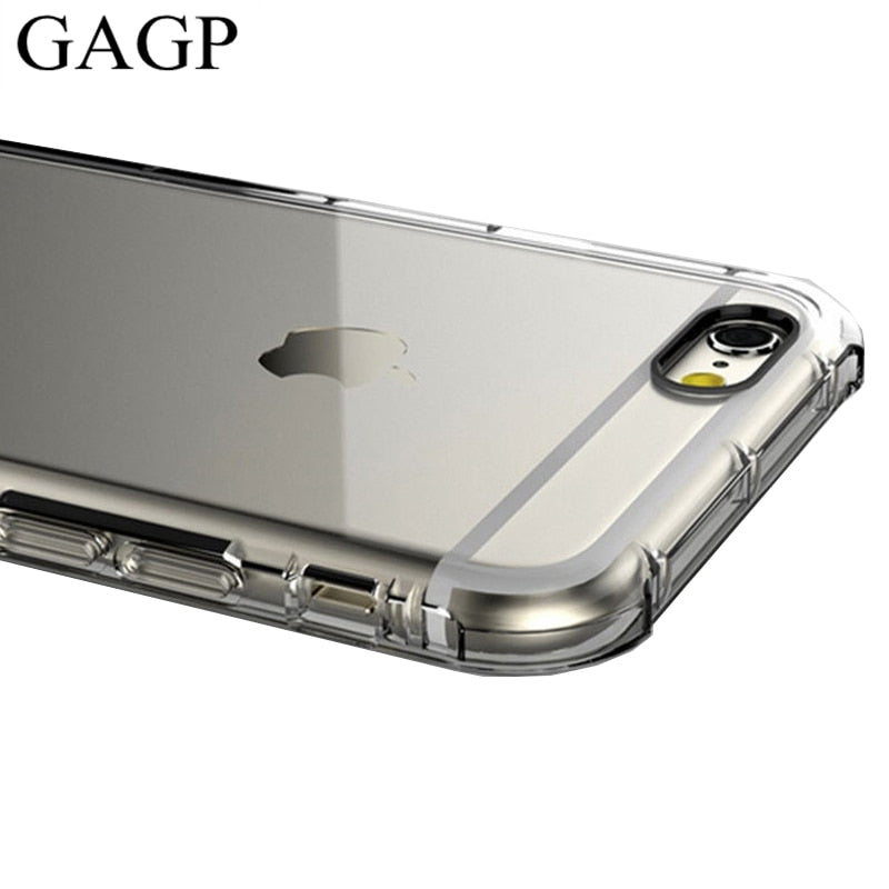 Silicone Cover Iphone 6 plus Clear