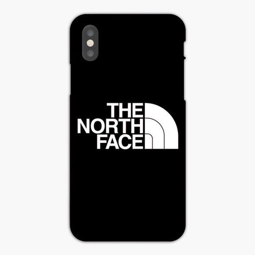 Custodia Cover iphone X XS Max XR The North Face White Black