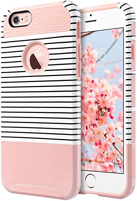 ULAK Cover iPhone 6S Plus Custodia iPhone 6 Plus PC + TPU Cover