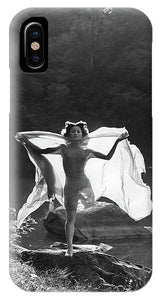 Vintage woman of the 30s cover iphone 6