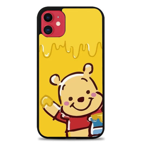 Custodia Cover iphone 11 pro max Pooh with Honey O6722 Case