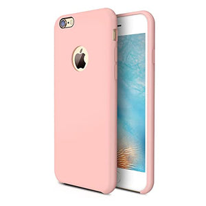best cover iphone 6s plus silicone pink