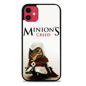 Custodia Cover iphone 11 pro max Assasin Creed Minion Despicable Me Case