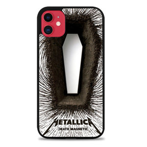 Custodia Cover iphone 11 pro max Metallica Death Magnetic Z0610 Case