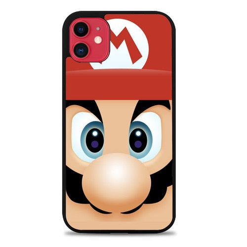 Custodia Cover iphone 11 pro max Mario Face Case
