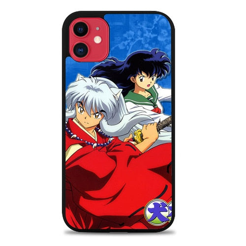 Custodia Cover iphone 11 pro max Inuyasha And Kagome Z1543 Case