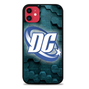 Custodia Cover iphone 11 pro max dc universe logo Z3677 Case
