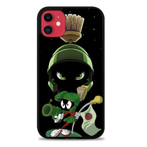 Custodia Cover iphone 11 pro max Looney Tunes Marvin Z3656 Case