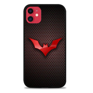 Custodia Cover iphone 11 pro max Batman Logo Red Z3858 Case