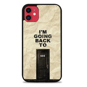 Custodia Cover iphone 11 pro max Arctic Monkeys 505 Lyrics Z4447 Case