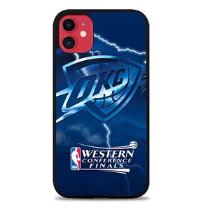Custodia Cover iphone 11 pro max Thunder Playoffs Z4815 Case