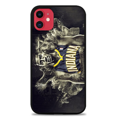 Custodia Cover iphone 11 pro max paul george indiana pacers Z5013 Case