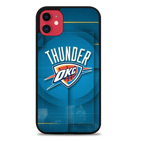 Custodia Cover iphone 11 pro max oklahoma city thunder logo Z5015 Case