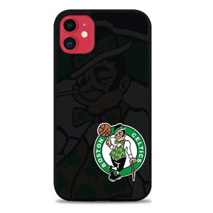 Custodia Cover iphone 11 pro max boston celtics logo Z5326 Case