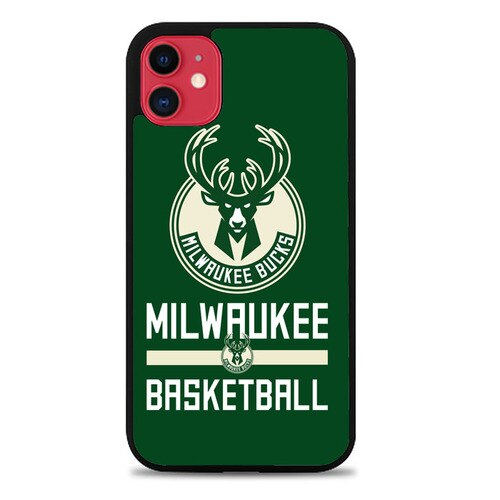 Custodia Cover iphone 11 pro max milwaukee bucks logo Z5345 Case
