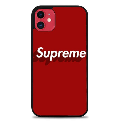 Custodia Cover iphone 11 pro max Supreme logo Z5386 Case