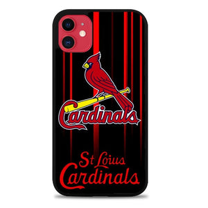 Custodia Cover iphone 11 pro max St Louis Cardinals logo Z5667 Case