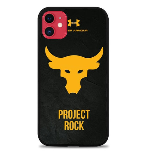Custodia Cover iphone 11 pro max under armour project rock Z5134 Case