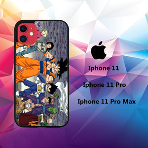 cover custodia case iphone 11 W6086 goku wallpaper 24yI2