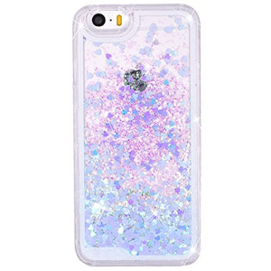 cover iphone 5 trasparente con brillantini