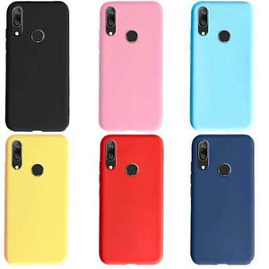 cover samsung a20e silicone colorate