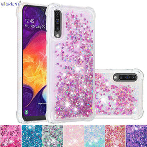 cover samsung a50 brillantini