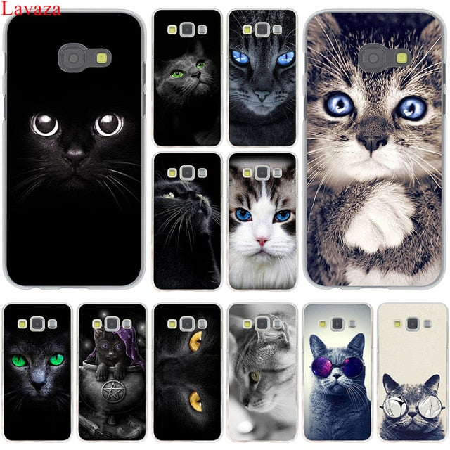 cover samsung galaxy j3 gatto