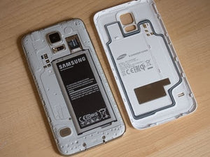cover samsung s5 ricarica wireless