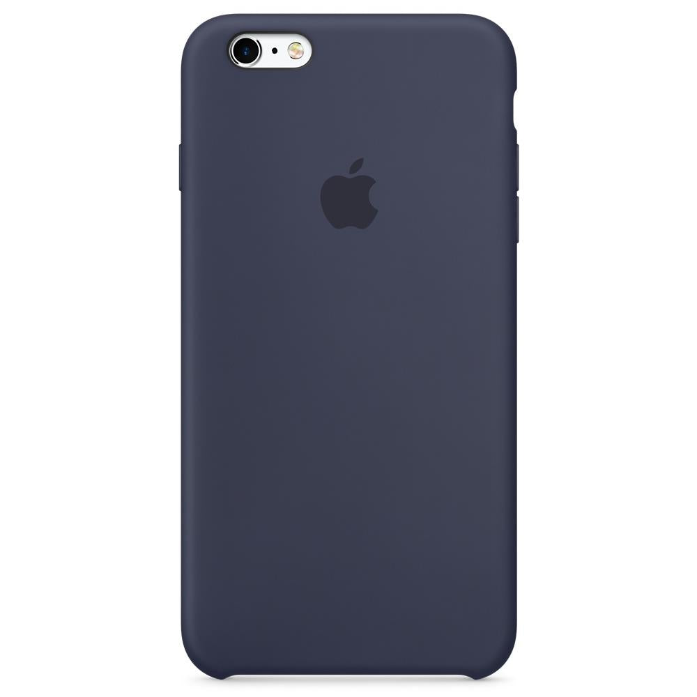 custodia in pelle per iphone 6s - blu notte