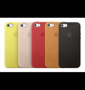 custodia in pelle per iphone se
