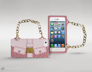 custodia iphone 5 borsetta