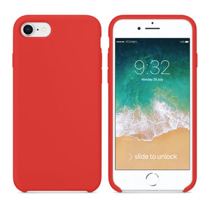 custodia iphone 7 apple rossa