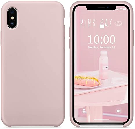 custodia iphone x silicone