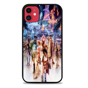 Custodia Cover iphone 11 pro max Final Fantasy all character XIII X0906 Case