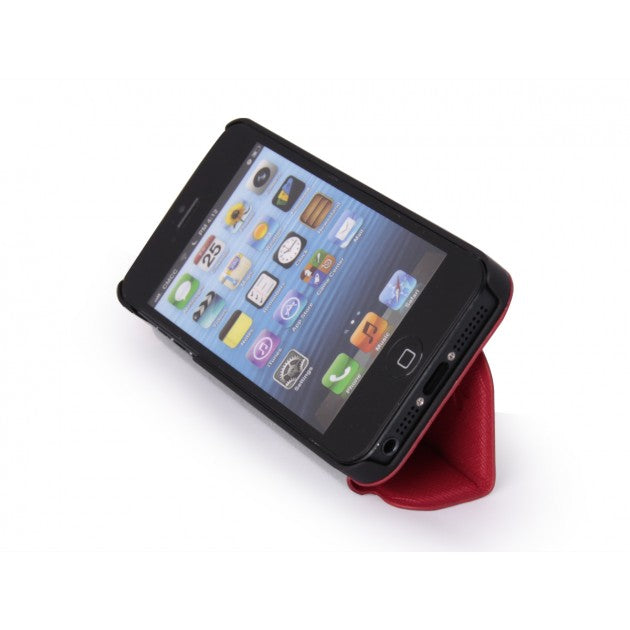 Accessori I Phon 5.Iphone 5 Accessori Custodia Con Sportellino Per Iphone 5 Rossa Kelisfashion