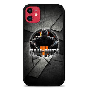 Custodia Cover iphone 11 pro max call of duty black ops3 L0329a Case