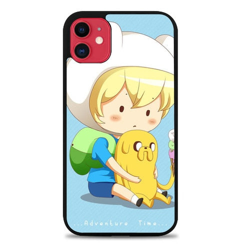 Custodia Cover iphone 11 pro max Adventure Time Chubby L1116 Case