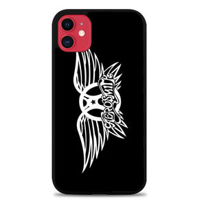 Custodia Cover iphone 11 pro max Aerosmith Logo L1164 Case