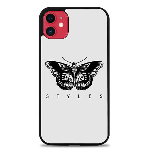 Custodia Cover iphone 11 pro max Harry Styles Butterfly Tattoo L1906 Case