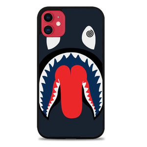 Custodia Cover iphone 11 pro max Bape Shark Dizzy L1975 Case