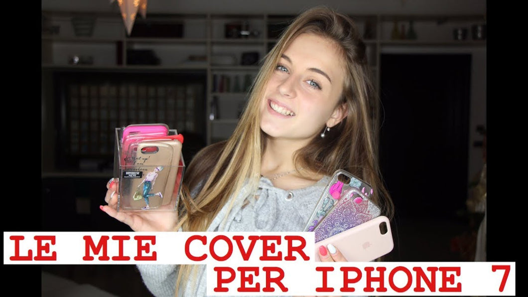le mie cover iphone 7