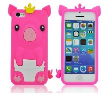 pig in a diaper Iphone custodia and cover