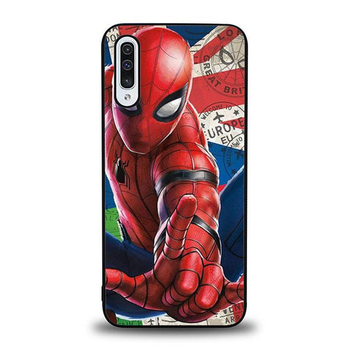 coque custodia cover fundas hoesjes j3 J5 J6 s20 s10 s9 s8 s7 s6 s5 plus edge B36040 Spidermann far From Home J0675 Samsung Galaxy A50 Case