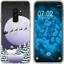 Galaxy S9 Plus Custodia in Silicone Natale X Mas M1 Case