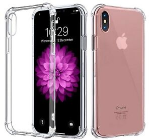 Per iPhone 8 7 6 PLUS XS MAX XR Bumper antiurto in Silicone Custodia  Protettiva Cover