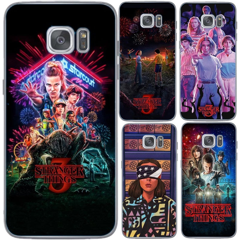 stranger things cover samsung